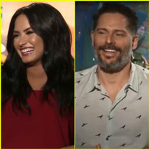 Joe Manganiello Says 'Smurfs' Was Made For Demi Lovato (Exclusive)