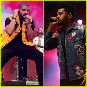 Drake & The Weeknd Make Surprise Appearances on Stage at Coachella!