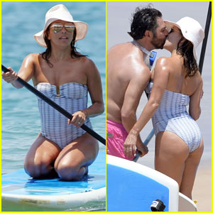 Eva Longoria & Jose Baston Pack on the Beach PDA in Hawaii
