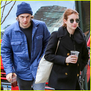 Emma Roberts & Evan Peters Spend Their Morning Together in NYC