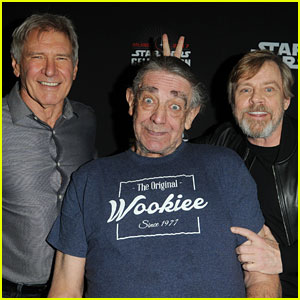 Harrison Ford & Mark Hamill Celebrate 'Star Wars' with Original Cast Members!