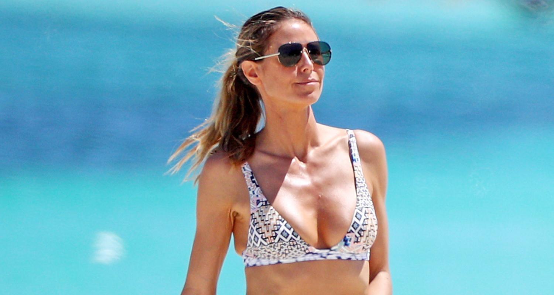 3e33da839f7b2 Heidi Klum Rocks Tiny Bikini Collection on Tropical Vacation ...
