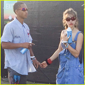 Jaden Smith Shows Off Newly Shaved Head at Coachella!
