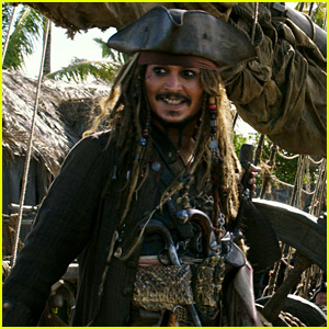 Johnny Depp Surprises Disneyland Visitors Dressed as Jack Sparrow - Watch Now!