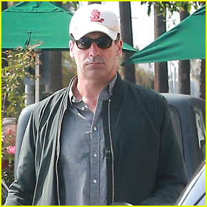 Jon Hamm Grabs His Morning Coffee in Los Feliz