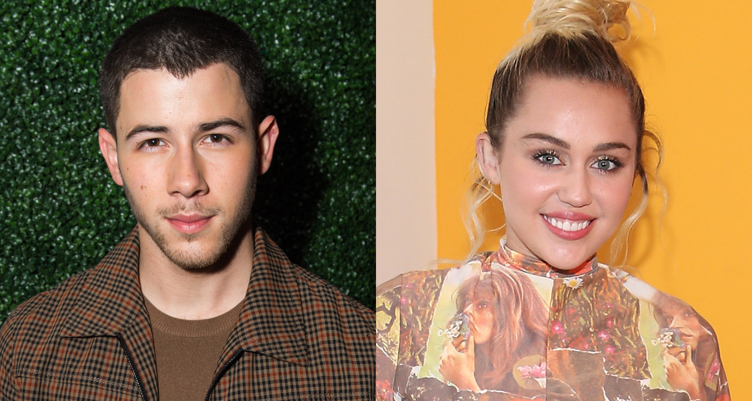 Nick Jonas And Miley Cyrus 2017
