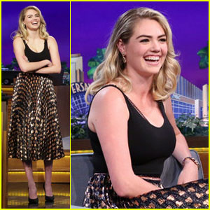 Kate Upton Holds Epic 'Dance Battle' With Jimmy Fallon (Video)