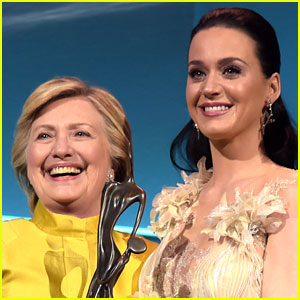 Hillary Clinton Models Katy Perry's 'The Hillary' Heel From Shoe Collection!