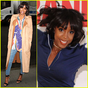 Kelly Rowland Says Her Son Titan Plays Piano 'Literally Every Day'