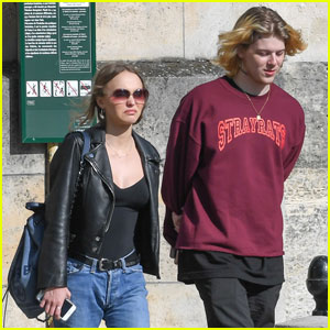 62eb811226cf Lily-Rose Depp & Boyfrend Ash Stymest Shop For Shoes | ash stymest ...
