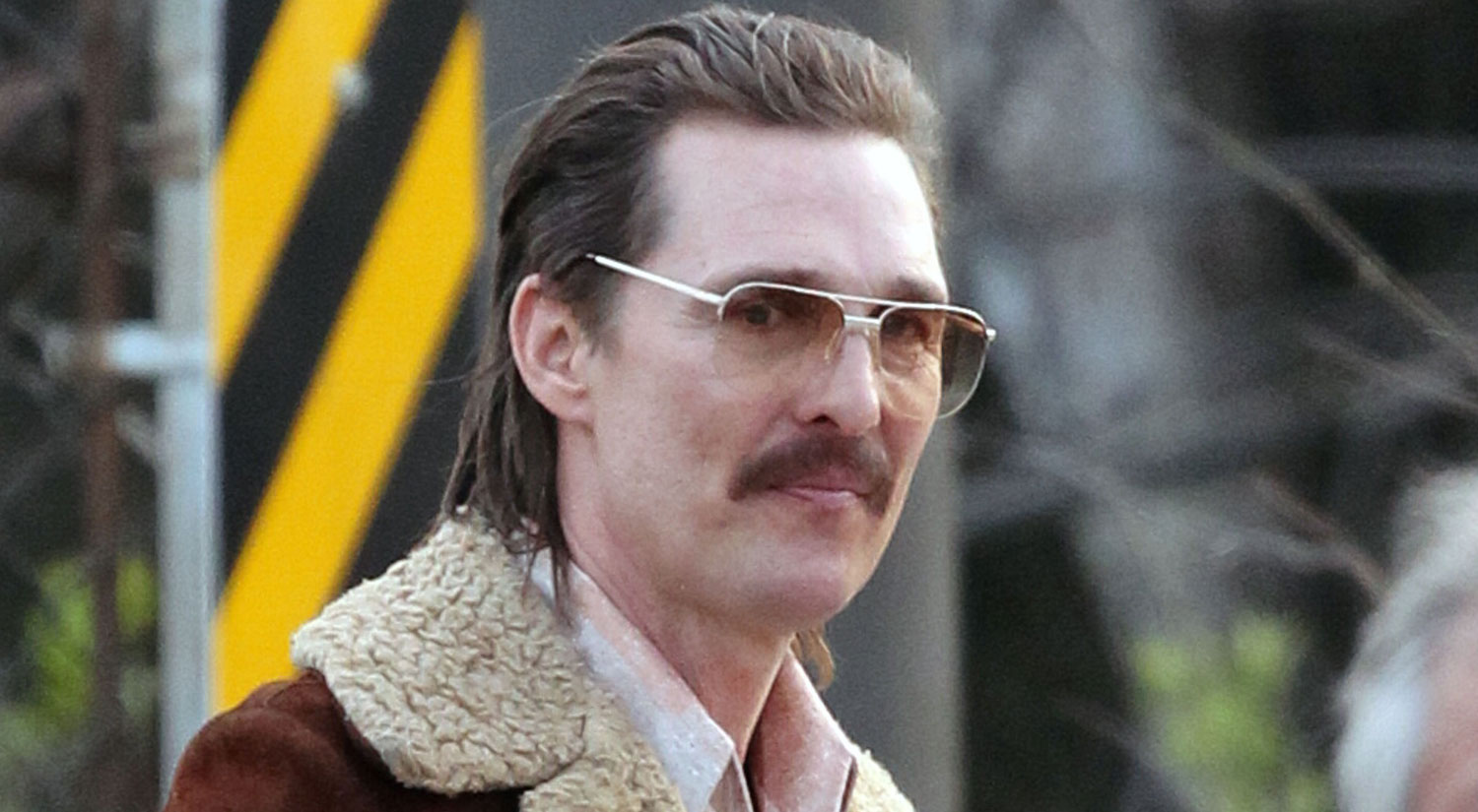 Matthew McConaughey Gets Into Character On Set of 'White ...