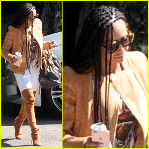 Mel B Steps Out After Revealing Simon Cowell Convinced Her to Leave Stephen Belafonte