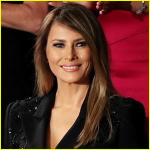 Melania Trump's Official Portrait Released by White House