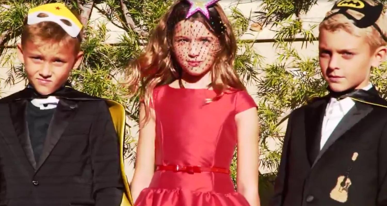 Milla Jovovich Patrick Dempseys Children Team Up For Italian