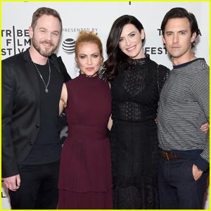 Milo Ventimiglia Premieres 'Devil's Gate' at Tribeca Film Festival 2017