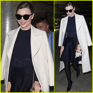 Miranda Kerr Returns Home From Her Trip to South Korea