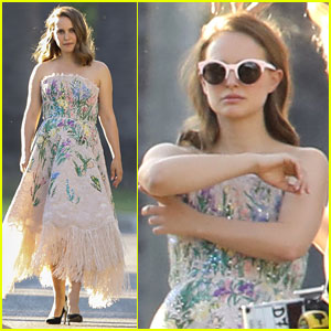 Natalie Portman Returns to Work for First Time After Giving Birth to Daughter