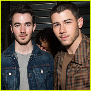 Nick Jonas Hangs With Brother Kevin at Catch LA Dinner