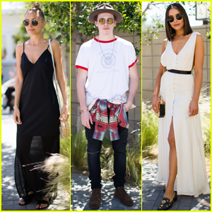 Nicole Richie Hosts 'House of Harlow x Revolve' Coachella Brunch!