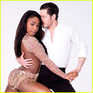 Normani Kordei & Val Chmerkovskiy Score Big on 'DWTS' Girl Group Night - Watch Now!