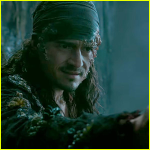 Orlando Bloom's Will Turner is Back in New 'Pirates' Promo!  Orlando Bloom