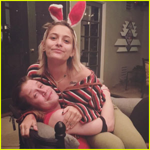 Paris Jackson Bonds with Godfather Macaulay Culkin