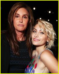 Paris Jackson & Caitlyn Jenner Hang Out at GLAAD Awards