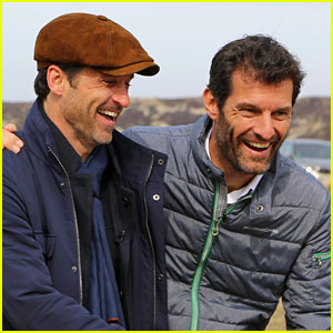 Patrick Dempsey Mark Webber Both Take The Drivers Seat In A