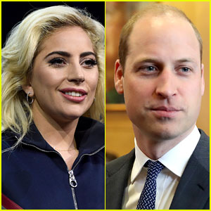 Lady Gaga & Prince William Video Chat for a Good Cause - Watch Here!