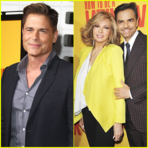 Rob Lowe Joins 'How To Be A Latin Lover' Cast At Hollywood Premiere - Watch Trailer!
