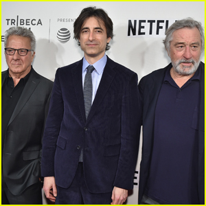 Robert De Niro & Dustin Hoffman Attend Noah Baumbach's Tribeca Talk
