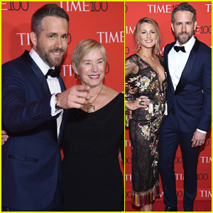 Ryan Reynolds Brings Wife Blake Lively & Mom Tammy to Time 100 Gala!