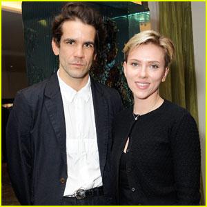 Scarlett Johansson & Ex Romain Dauriac Reunite After Split
