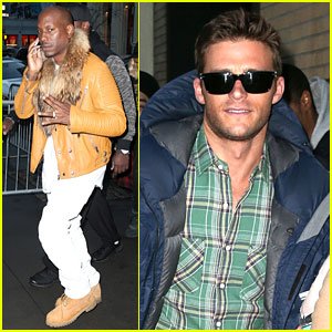 Scott Eastwood & Tyrese Gibson Attend 'Fate of the Furious' Q&A in NYC