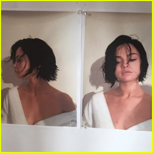 Selena Gomez Just Chopped Her Hair Super Short!