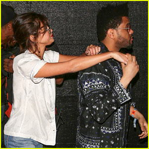 Selena Gomez & The Weeknd Keep Close on Coachella Night One!