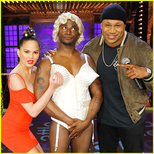 Taye Diggs Channels Madonna in Her Cone Bra for 'Lip Sync Battle' - Watch Now!