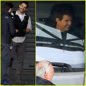 Tom Cruise & Henry Cavill Get Back to Work on 'Mission: Impossible 6'