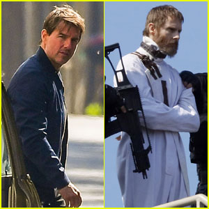 Tom Cruise's 'Mission Impossible 6' Co-Star Sean Harris Wears Straitjacket on Set
