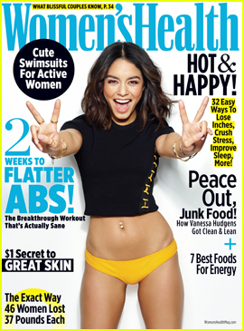 Vanessa Hudgens Reveals How She Keeps Her Body in Shape
