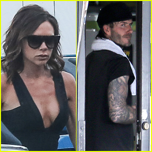 Fabulous David Beckham Breaking News Photos And Videos Just Jared Hairstyle Inspiration Daily Dogsangcom