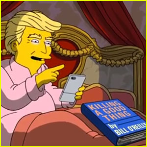 Watch 'The Simpsons' Take On Trump's First 100 Days in Office (Video)