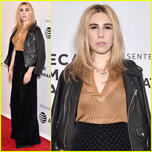 Zosia Mamet Premieres 'The Boy Downstairs' At Tribeca Film Festival 2017