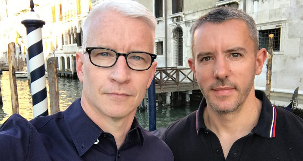 from Maximo anderson cooper gay boyfriend