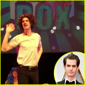 Watch Andrew Garfield Dress in Drag & Sing Whitney Houston