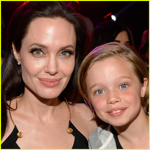 Angelina Jolie Celebrates Shiloh's 11th Birthday at Disneyland!