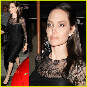 Angelina Jolie Gets Mother's Day Dinner with Son Pax!