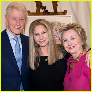 Barbra Streisand Shouts Out Hillary Clinton At Final Tour Stop!