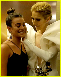 Celine Dion Had So Many Celeb Visitors Backstage at BBMAs