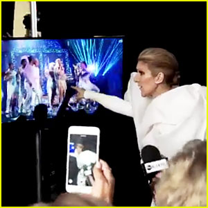 Celine Dion Dances & Sings to Cher's Billboard Music Awards 2017 Performance - Watch Now!